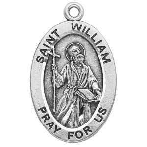 St Wiliam silver st william medal