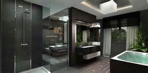 Combined Shower Bath luxurious penthouse apartment with breathtaking colour