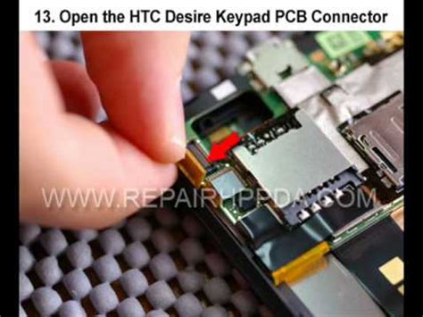 Solution X 601 self repair for htc desire htc bravo