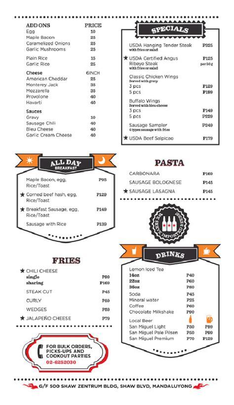 beautiful menu beautiful restaurant and coffee shop menus for inspiration
