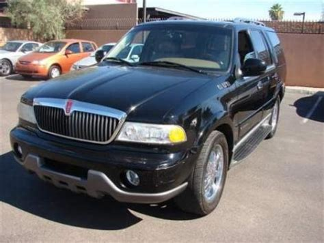 cheap lincoln navigator for sale 2000 lincoln navigator suv for sale in az