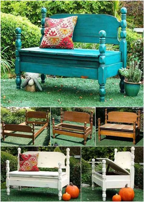 Turn Into Outdoor Furniture by 15 Awesome Ways To Repurpose Furniture