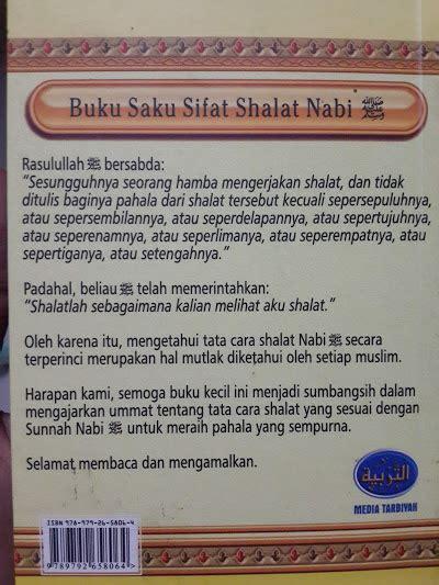 Sifat Shalat Nabi Saku 1 buku saku sifat shalat nabi oleh syaikh albani toko muslim title