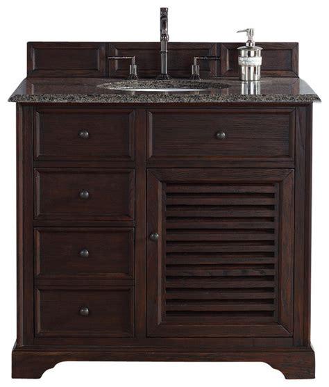 Tropical Bathroom Vanities 36 Quot Single Vanity Tropical Bathroom Vanities And Sink Consoles By Corbel