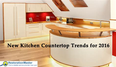 countertop trends new kitchen countertop trends for 2016