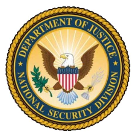 United States Department Of Justice Search United States Department Of Justice National Security Division