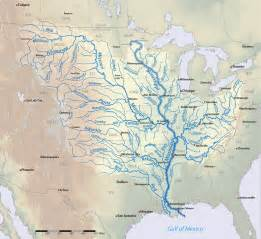 map of the mississippi river in the united states rivers mississippi and maps on