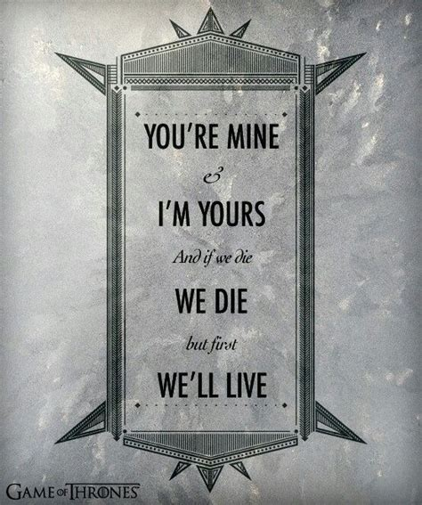 Wedding Quotes Of Thrones by Of Thrones Quote Geeky Quotes