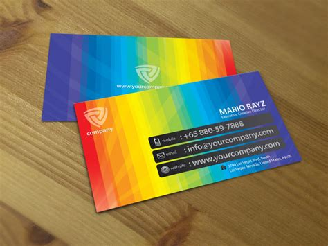band cards band of color business card 02 by lemongraphic on deviantart