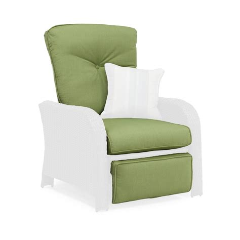 recliner cushion sawyer patio recliner replacement cushion cilantro green