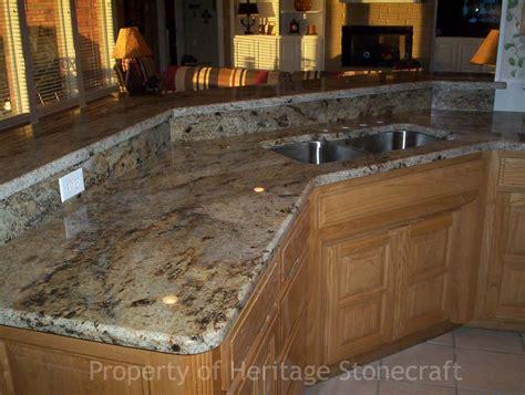 Granite Countertop Photos by Image Gallery Lapidus Gold Granite Countertops