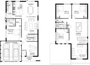 Floor Plan Two Storey House The Stanford Four Bed Two Storey Home Design Plunkett