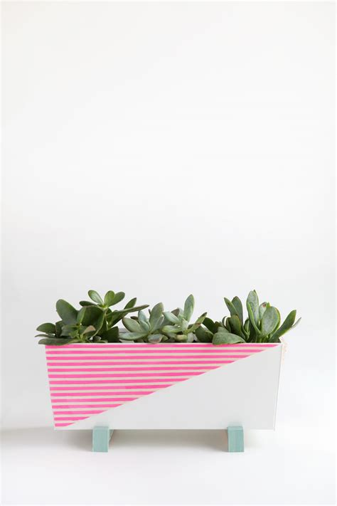 Diy Modern Planter by Diy Modern Indoor Planter Tell And