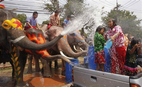 thai new year water festival songkran thai new year water festival thailandholiday