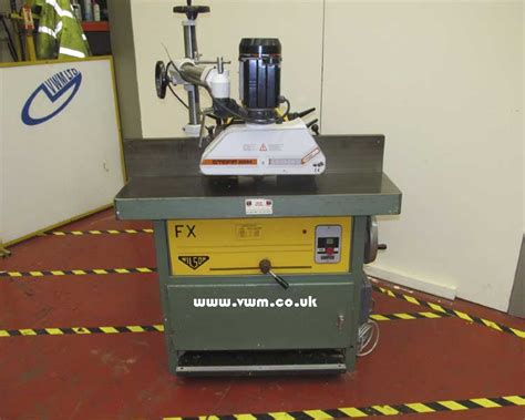 wilson woodworking machinery wilson fx spindle moulder with power feed unit