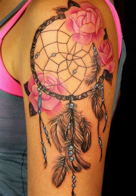 unique dreamcatcher tattoo designs glorious dreamcatcher tattoos and meanings best