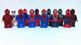 lego spider man suits quick update spideys flickr