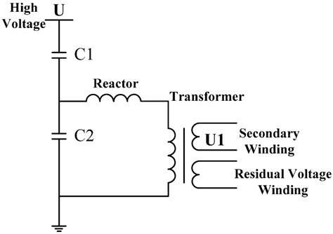 capacitor voltage loss voltage drop formula
