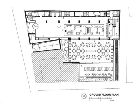 hotel layout ground floor architecture photography square nine hotel isay