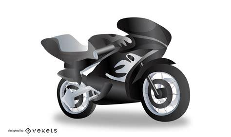 realistic motorcycle vector vector