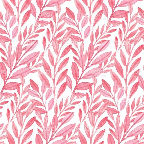 pink pattern free vector seamless vector pink pattern of leaves stock vector art