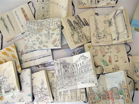 book sketch your world mattias inks sketchbooks in a different light