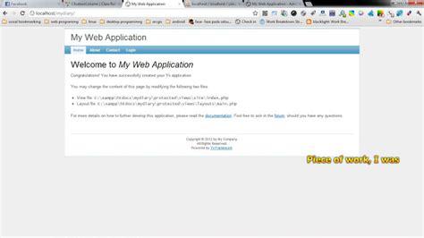 online tutorial for yii framework tutorial instalasi yii framework di xp 171 programmer mania