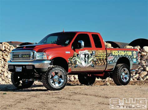 exotic suspensions work truck 2001 ford f 250 8 lug diesel truck magazine