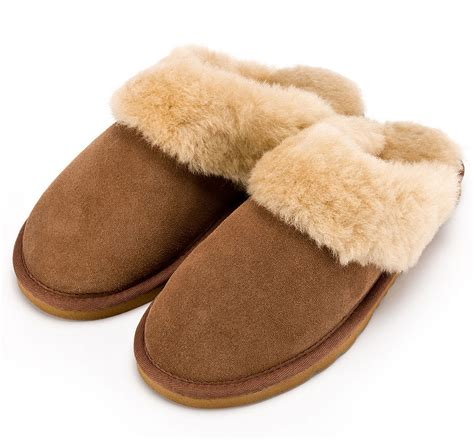 sheep wool slippers sheepskin mule slipper