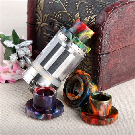 Driptip Wide Bore Resin buy wide bore resin drip tip for aspire cleito 120 tank