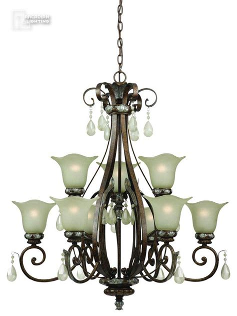 Casual Chandelier World Imports Wi474960 Dressy Casual Traditional Chandelier Wi 4749 60