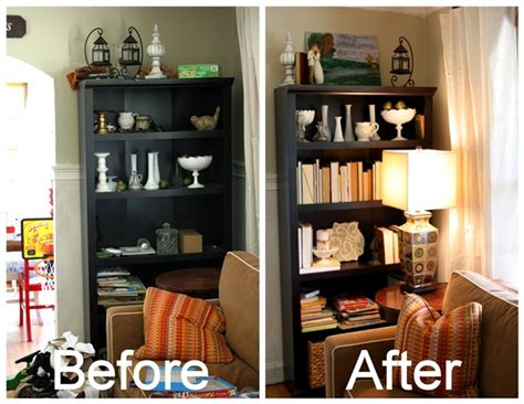 how to decorate bookshelves how to decorate a bookcase on the cheap