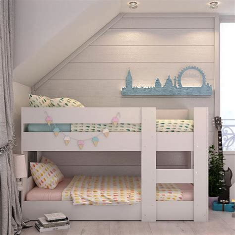 Low Bunk Beds by Beds Melbourne Bunk Bed Compact Mid Low Height