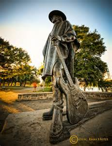 Stevie Vaughan Statue Eric Bartlett Photography Stevie Vaughan Statue