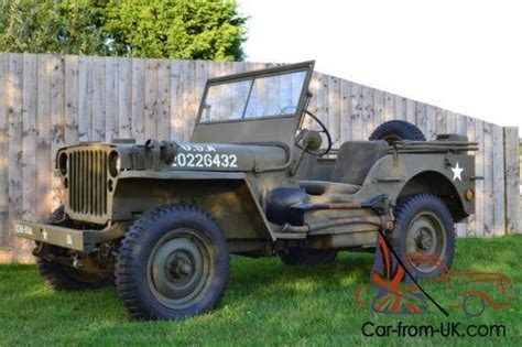 World War 2 Jeep For Sale Willys 1942 World War 2 Jeep