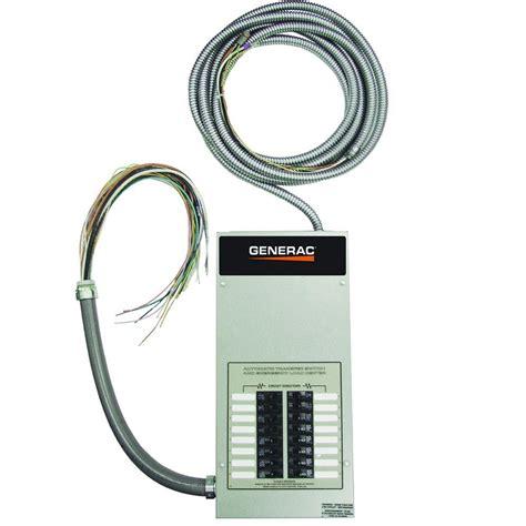 generac 16 circuit 100 load center rtg16eza1 the