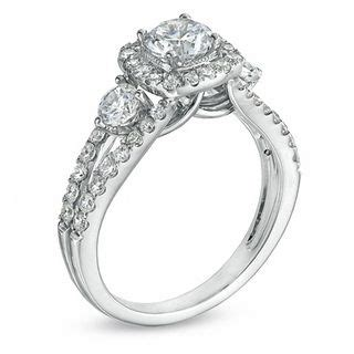 Zales S Day Rings Celebration Grand 174 1 5 8 Ct T W Engagement Ring