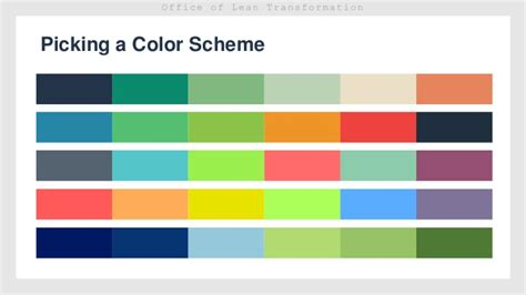 Powerpoint Presentation On Giving Effective Powerpoint Color Scheme Powerpoint