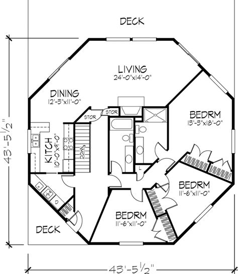 octagon house plans octagon house floor plan 1 of 2 levels dreams for my