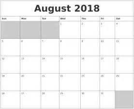 Calendar 2018 Printable Word November 2018 Word Calendar