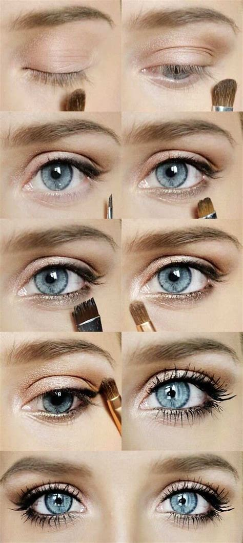 natural color makeup tutorial glamorous but subtle eye makeup makeup ideas pinterest