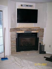 Decorate your home with a corner fireplace mantel fireplace design