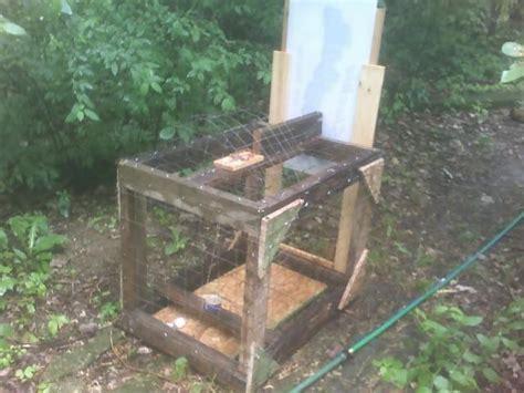 Handmade Traps - home made live trap pics