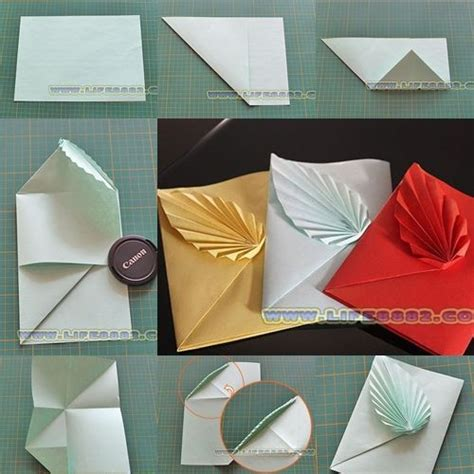 Origami Leaf Envelope - 1000 images about origami envelopes letter folding on