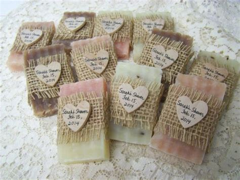 Handmade Soap Favors - 50 bridal shower favors soaps mini soaps shea butter