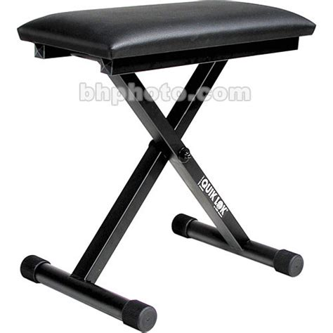 quik lok keyboard bench quiklok bx 716 height adjustable deluxe portable keyboard