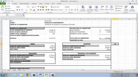 simulador liquidacin laboral gerencie liquidacion liquidacion youtube