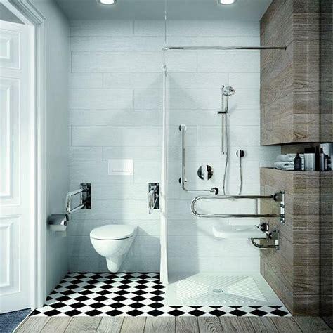 Kleines Bad Rollstuhlgerecht by Prysznic Dla Os 243 B Starszych łazienka Dla Niepełnosprawnych