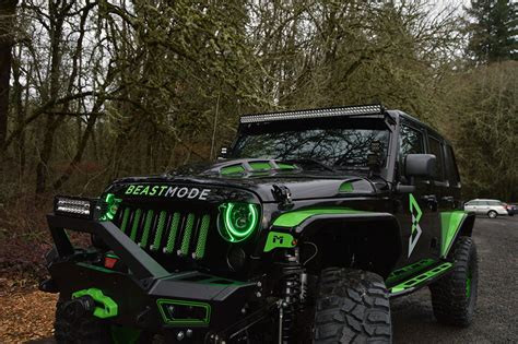Beast Mode Jeep by Marshawn Lynch Beast Mode Jeep Wranglers Up For Charity