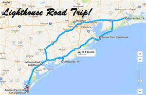 texas lighthouses map take this road trip to visit 5 of the greatest lighthouses in texas